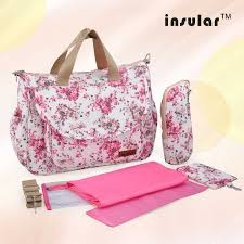<b>Insular</b> Diaper Baby <b>Mummy Maternity</b> Nappy Bag Brand Travel ...