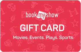 BookMyShow E-Gift Cards - Instant Delivery by Email | Woohoo.in
