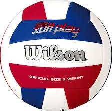 """<b>Мяч волейбольный Wilson</b> """"<b>Super</b> soft play"""", цвет: белый — купить ..."""