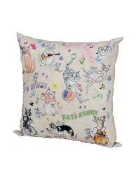 <b>Декоративная подушка</b> на молнии, Атлас, <b>35х35</b> см, Италия <b>Gift'n</b> ...