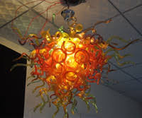 100 mouth blown ce ul borosilicate murano glass dale chihuly art low price chandelier special led light cheap office lighting