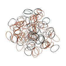 <b>Резинки для</b> волос силиконовые, mini (100 шт) <b>DEWAL</b> RES034 ...