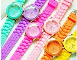 <b>Fluorescent candy</b> watches | <b>Neon colors</b>, <b>Fluorescent colors</b>, <b>Candy</b> ...