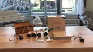 <b>Wireless</b> Cameras CCTV setup, 4x <b>FLOUREON wireless</b> NVR ...