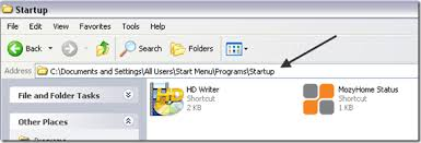 How to Add a Program to Startup in Windows XP