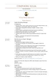 digital marketing manager resume samples   visualcv resume samples    digital marketing manager resume samples