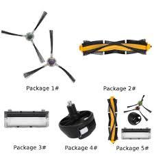 <b>Roller Side</b> Brush <b>Main Brush</b> Cover For Ecovacs Deebot DE55 ...