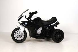 Детский <b>электромотоцикл JIAJIA BMW S1000RR</b> 6V - черный ...