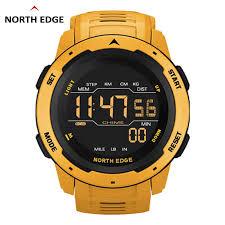NORTHEDGE <b>Men's Digital Watch</b> Military Army 50M Waterproof ...