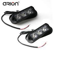 CIRION <b>2Pcs</b>/Lot Super Bright <b>4 LED</b> Waterproof Car Truck ...