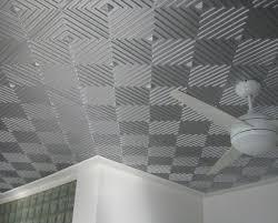 sagging tin ceiling tiles bathroom:  silver