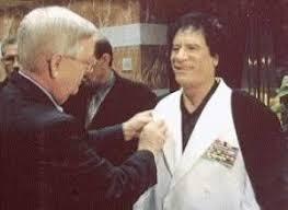 Gaddafi Curt Weldon