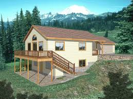 Childers Terrace Vacation Home Plan D    House Plans and MoreMulti Level House Perfect For A Sloping Lot