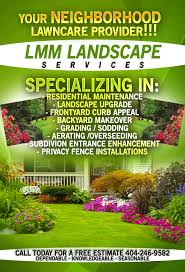 lawncare flyer