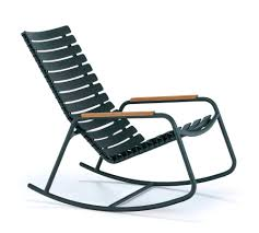 Houe Clips Mono <b>Rocking Chair</b>, Pine green, <b>Bamboo</b> armrests by ...