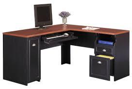 modern corner desk with shelves attractive office furniture corner desk
