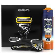 Купить <b>Набор</b> подарочный <b>GILLETTE Fusion ProShield</b>, (Бритва ...