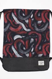 <b>Сумка CAYLER & SONS</b> Milano Gym Bag (Red Snakes/Black/Black ...