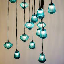 glass bead pendant light by tom dixon blown glass lighting pendants