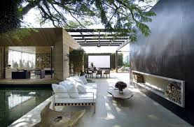 outdoor living spaces gallery glorious blend interior and semi exterior living spaces