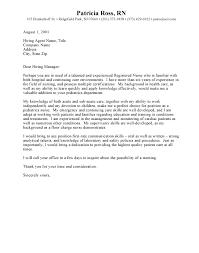 sample cover letter for nurses  socialsci cohow to write a nursing cover letter registered cover letter nursing