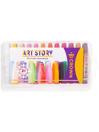 """<b>Пастель масляная</b> """"ArtStory"""", 24 цвета <b>CROWN</b>! 10328282 в ..."""