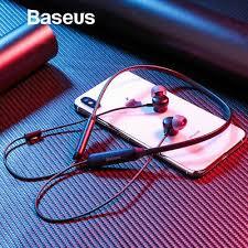 <b>BASEUS SIMU</b> S15 IPX5 Wireless Bluetooth Neckband <b>Noise</b> ...
