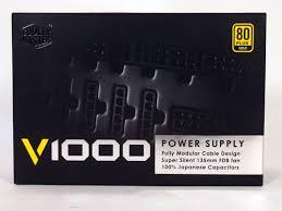 Тест и обзор: <b>блок питания Cooler Master</b> V Series V1000 (RS ...