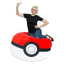 Pokemon <b>Poke Ball</b> Bean Bag Chair | GameStop