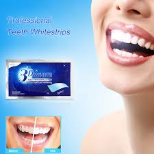 1/5/14PCS 3D <b>Teeth</b> Whitening Strips Anti-Sensitive <b>Double Elastic</b> ...