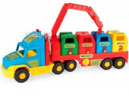 <b>Игрушка Wader Super Truck</b> Мусоровоз 36530