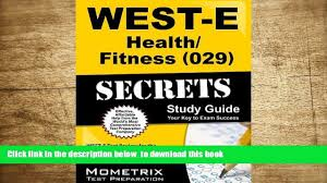 west e health fitness secrets study guide 00 21