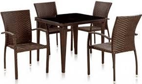 <b>Комплект</b> плетеной <b>мебели Afina T</b>-249Y, золотисто-коричневый ...