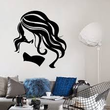 diy sexy beauty wall sticker