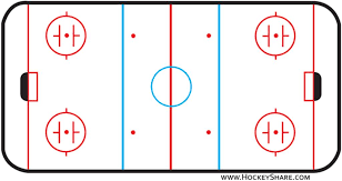 best images of half ice hockey rink diagram   blank ice hockey    ice hockey rink diagram