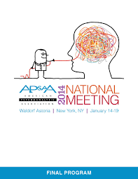 apsaa national meeting preliminary program by american apsaa 2015 national meeting preliminary program by american psychoanalytic association issuu