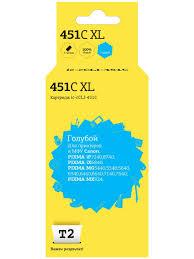 Картридж T2 IC-CCLI-451C (CLI-451C XL/CLI 451C/451C/451) для ...