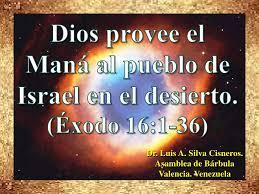 Resultado de imagen para MANA BIBLIA SEXTO DIA