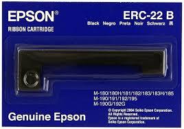 <b>Картридж Epson Картридж Epson</b> Ribbon ERC-22 B (<b>black</b> ...