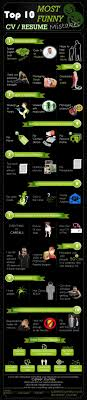 infographic top funny resume mistakes don t miss out