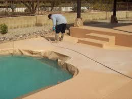 concrete pool patio sealing