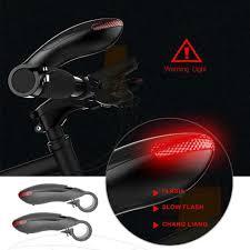 <b>Folding Laser Bike Light</b> Front Rear Safety Warning Bicycle Light ...