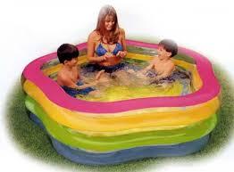 "<b>Бассейн надувной</b> ""<b>Summer</b> Colors Pool"" (от 6 лет) 185х180х53см ..."