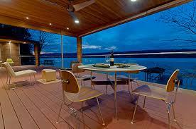 the lakehouse retreat modern deck bright ideas deck