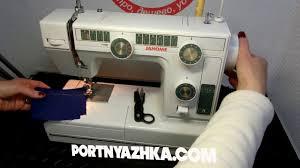 Обзор <b>швейной машины Janome</b> L-394 /Janome LE 22 - YouTube