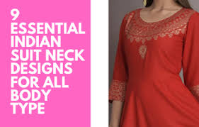 9 Essential Indian <b>Suit Neck</b> Designs For All Body Type   Meesho