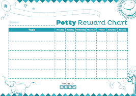 your printable charts room to grow potty training reward chart