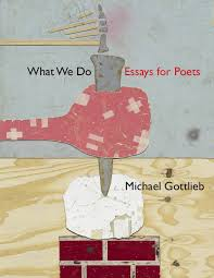what we do essays for poets by michael gottlieb chax press what we do