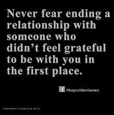 What you should never fear if you're unhappy in your relationship ... via Relatably.com
