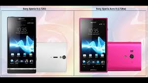 Sony Xperia Acro S vs Sony Xperia S - Specs comparison - YouTube
